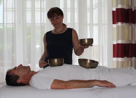 Klangschalen und geführte Meditation